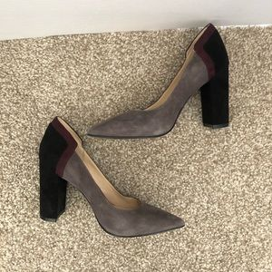 Nine West Mulit-Color Heels - Sz 5.5